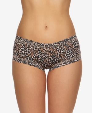 Hanky Pank Women's Leopard-Print Boyshort 2X1284