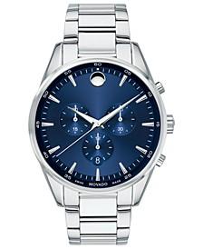 Men's Swiss Chronograph Stratus Stainless Steel Bracelet Watch 42mm
