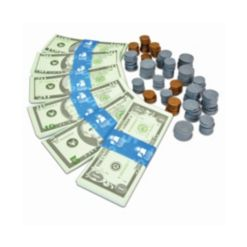 The Learning Journey Kids Bank- Play Money Set