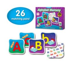 The Learning Journey Match It Memory- Alphabet