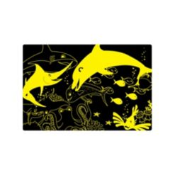 The Learning Journey Puzzle Doubles- Glow In the Dark- Sea Life