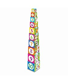 The Learning Journey Stacking Cubes