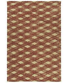 "Kaleen Tulum Jute TUL02-30 Rust 7'6"" x 9' Area Rug"
