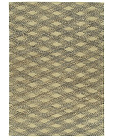 Tulum Jute TUL02-103 Slate 3' x 5' Area Rug
