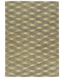 Kaleen Tulum Jute TUL02-103 Slate 7'6 x 9' Area Rug