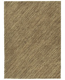 Tulum Jute TUL01-40 Chocolate 3' x 5' Area Rug