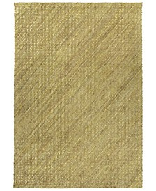 "Tulum Jute TUL01-72 Maize 7'6"" x 9' Area Rug"