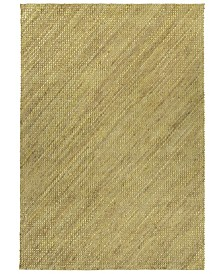Kaleen Tulum Jute TUL01-72 Maize 7'6 x 9' Area Rug