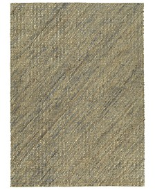Kaleen Tulum Jute TUL01-103 Slate 7'6 x 9' Area Rug