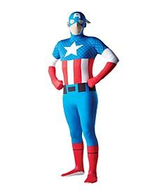 BuySeason Men's Captain America Second Skin Costume