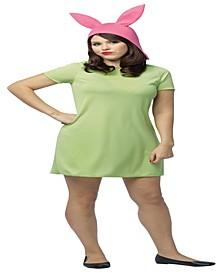 BuySeason Women's Bob's Burgers- Louise Dress Costume