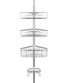 E-Satin Steel Tension Shower Caddy