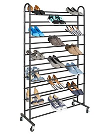 Free-Standing 10 Tier Shoe Rack