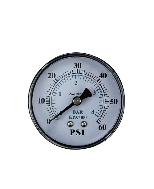 "Northlight 2.5"" 60Mm Back Mount Pressure Gauge 0-60 Psi6"