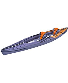13.25' Inflatable Zray Nassau 2-Person Kayak Set with Paddles and Hand Pump