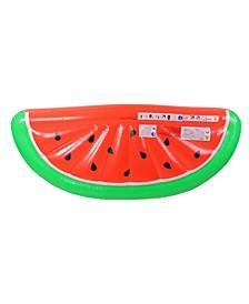"70.5"" Inflatable Watermelon Slice Pool Lounge Pool Float"