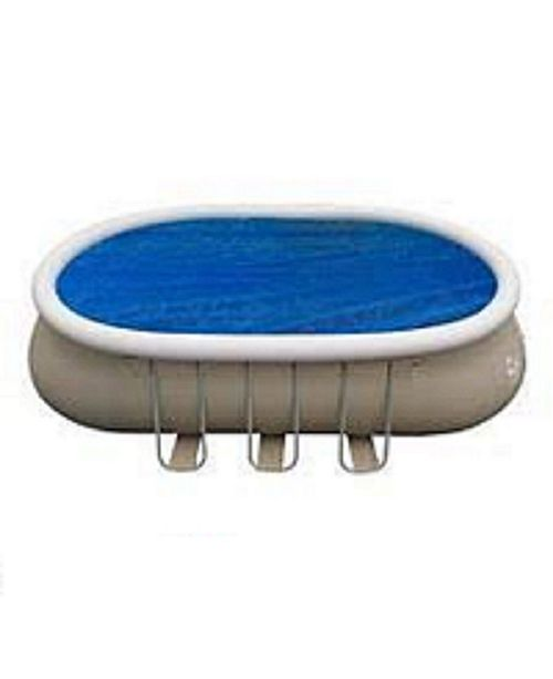 Northlight 16.5' Oval Floating Swimming Pool Solar Cover