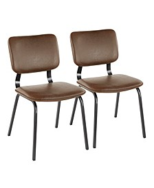 Foundry Dining Chairs, Set of 2