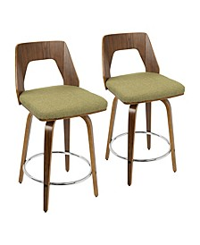 "Trilogy 24"" Counter Stool, Set of 2"