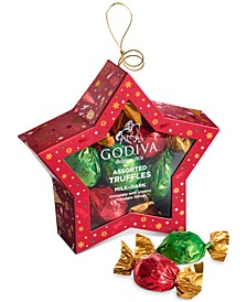 10-Pc. Truffles Star Ornament