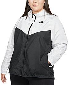 Nike Plus Size Windrunner Hooded Jacket