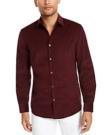 Men's Classic-Fit Corduroy Shirt, Created For Macy's
