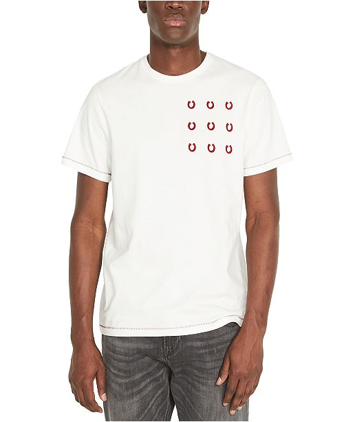 Buffalo David Bitton Men's Timail Logo Graphic T-Shirt