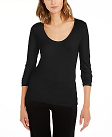 Netta Scoop-Neck Top