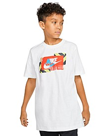Big Boys Cotton Graphic-Print T-Shirt