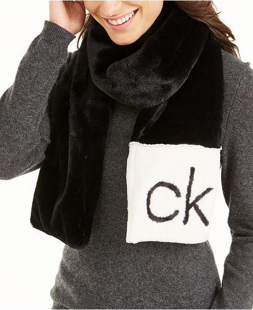 Calvin Klein Faux Fur Collection