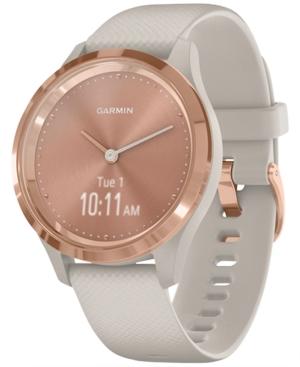 Unisex Vivomove 3S Light Sand Silicone Strap Smart Watch 8.9mm
