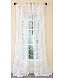 Charming Night Sheer Rod Pocket Curtain Collection