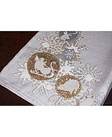 "Christmas Ornaments Christmas Tea Towel, 17"" x 27"""