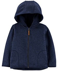 Baby Boys Sweater-Knit Zip-Up Hoodie