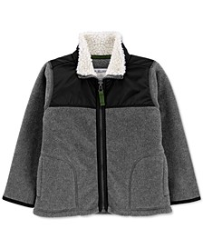 Baby Boys Fleece Zip-Up Jacket