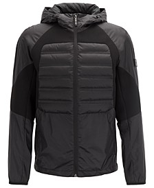BOSS Men's Water-Repellent Down Jacket