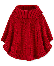 Carter's Toddler Girls Sparkly Poncho Sweater
