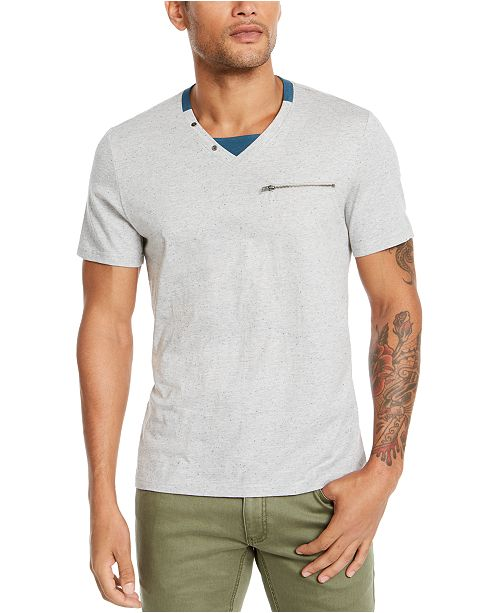 INC International Concepts I.N.C. Men's Layered Look T-Shirt, Created For Macy's