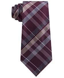 Men's Crossline Slim Plaid Tie