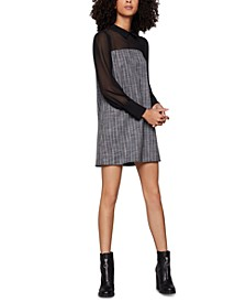 Illusion-Blouse Shirtdress
