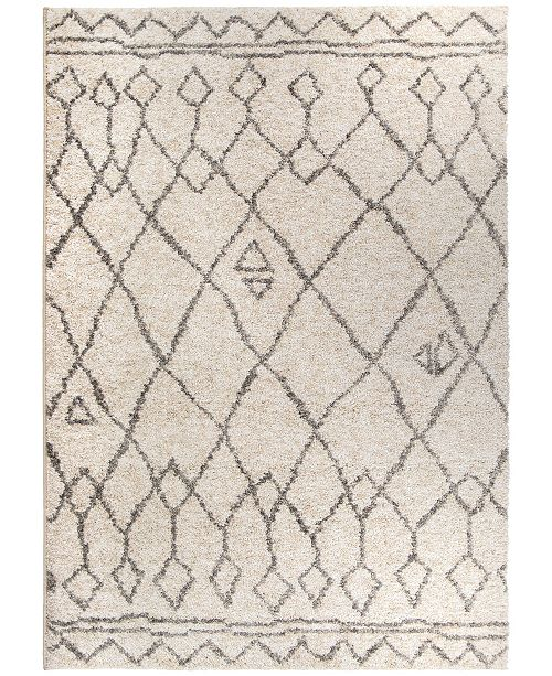 Palmetto Living Casablanca Tribal 01 Lambswool 9 'x 13' Area Rug