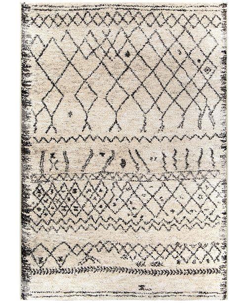 "Palmetto Living Casablanca Tribal 08 Multi 5'3"" x 7'6"" Area Rug"