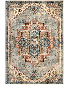 """Alexandria King Fisher Pale Blue 5'1"""" x 7'6"""" Area Rug"""