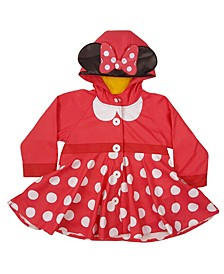 Little and Big Girl's Minnie Mouse Rain Coat