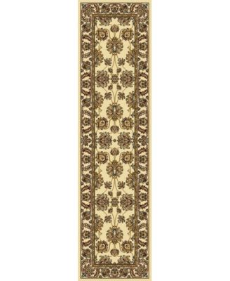 """CLOSEOUT! 1330/1214/IVORY Navelli Ivory 2'2"""" x 8' Runner Rug"""