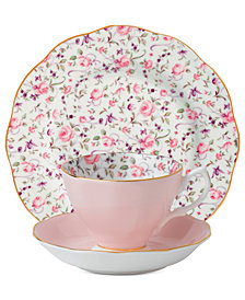 Royal Albert Rose Confetti 3-Piece Set