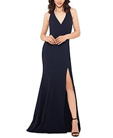 XSCAPE Side-Slit Gown