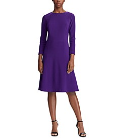 Jersey Fit-and-Flare Dress