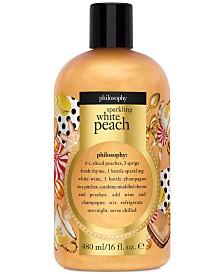 philosophy Sparkling White Peach Shower Gel, 16-oz