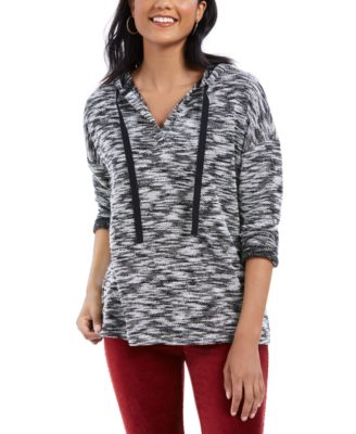 Womens Plus French Terry Casual Hoodie Style /& Co